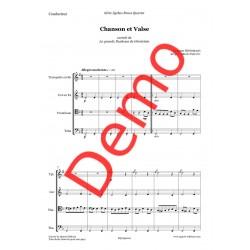 <FONT><B>Jacques OFFENBACH</B></FONT><br />Chanson et Valse - Imprimé