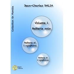 <FONT><B>Jean-Charles DALIA</B></FONT><br />En famille, vol.1 - Imprimé