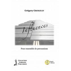 <FONT><B>Grégory GROSJEAN</B></FONT><br />Influences - Téléchargement