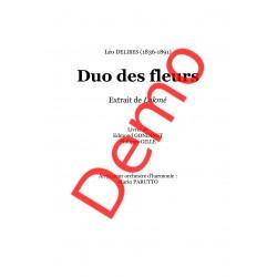<FONT><B>Léo DELIBES</B></FONT><br />Duo des Fleurs - Imprimé