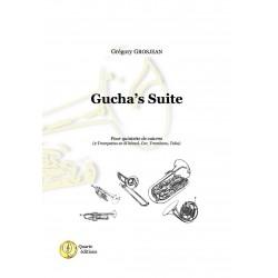 <FONT><B>Grégory GROSJEAN</B></FONT><br />Gucha&#039;s Suite - Imprimé