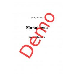 <FONT><B>Mario PARUTTO</B></FONT><br />Monologue - Téléchargement